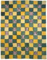 Cheer Flannel Rag Edge Photo Quilt